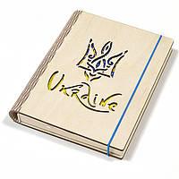 Деревянный органайзер для бизнеса - Ежедневник «Украина»
