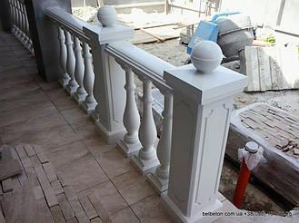 Наши балюстрады и балясины не требуют какого-либо специфического ухода благодаря своей технологии мрамор из   бетона. По своей красоте и прочности не уступают натуральному камню. Наши изделия способны облагородить любой   интерьер загородного дом