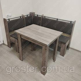 Кухонний куточок Гетьман з розкладним столом і табуретами