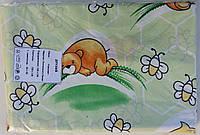 Детское постельное белье бязь Главтекстиль 150х110 Мишки с пчелами