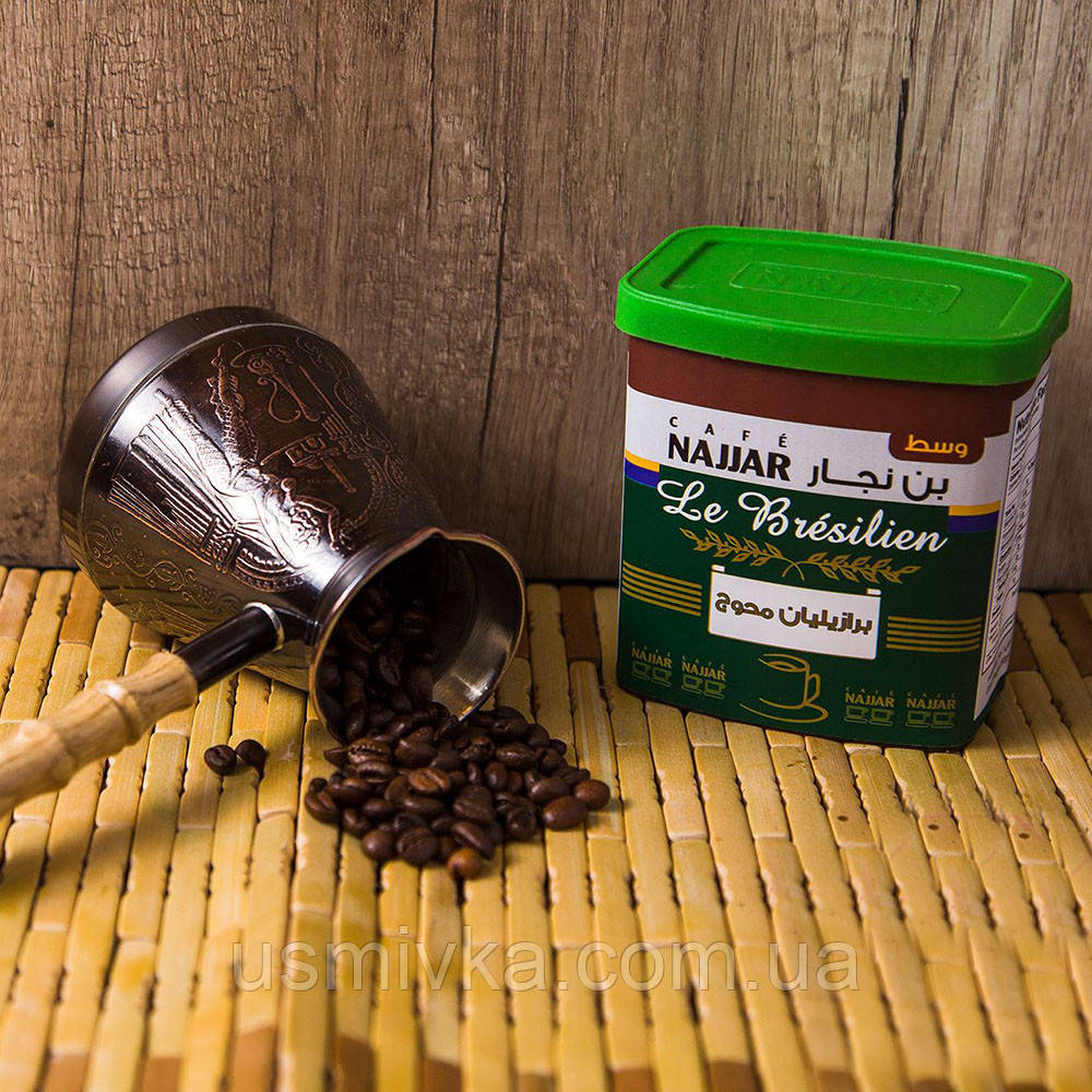 Арабский кофе молотый с кардамоном Najjar 250г