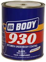 Мастика BODY 930 Чорна, 2,5 кг.