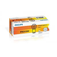 Лампа розжарювання Philips PR21/5W, 10шт/картон 12495CP, Лампа, розжарювання, Philips, PR21/5W,, 10шт/картон, 12495CP