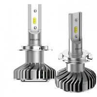 Лампы cветодиодные Philips H7 Ultinon LED +160% 6200K 11972ULWX2 цена за 2 штуки