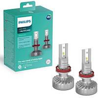 Лампи світлодіодні Philips H8/H11/H16 Ultinon LED-FOG +160% 11366ULWX2 ціна за 2 штуки, Лампи, світлодіодні, Philips, H8/H11/H16,