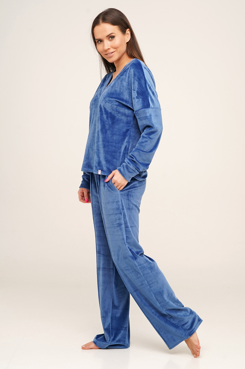 Молодежная велюровая пижама  TM Orli