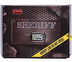 Сигналізація SHERIFF ZX-1090 PRO