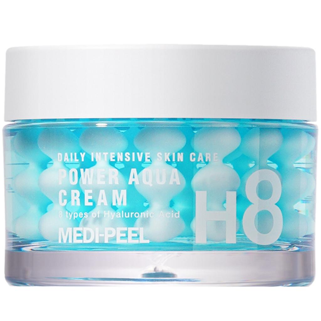 Увлажняющий крем для лица с пептидными капсулами Medi-Peel Power Aqua Cream 50 мл