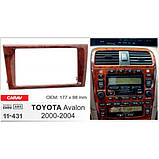 Переходная рамка Carav Toyota Avalon (11-431), фото 4