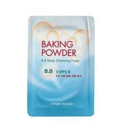 Пенка для снятия бб крема Etude House Baking Powder BB Deep Cleansing Foam, фото 2