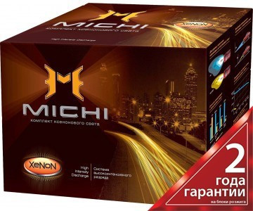 Комплект ксенонового світла, MICHI MI H11 (5000K) 35W