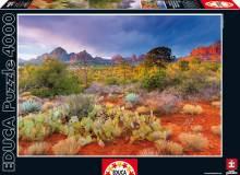 Пазлы Educa Закат в Ред Рокс Аризона США 4000 элементов