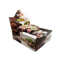 Протеиновые батончики Power Pro 32% с орехами Nutella без сахара 60 гр, 20 шт/блок