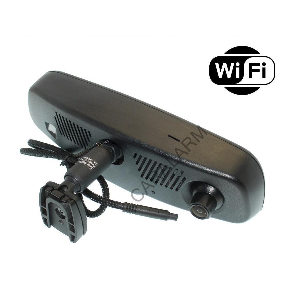 Зеркало заднего вида со встроенным двухканальным видеорегистратором Gazer MUW5000 Wi-Fi