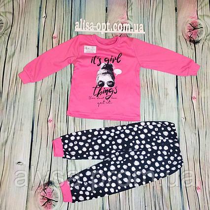 Детская пижама Фешен для девочки интерлок