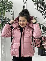 Куртка-жилет для девочек, 122-146 рр. Артикул: MTM54, фото 1