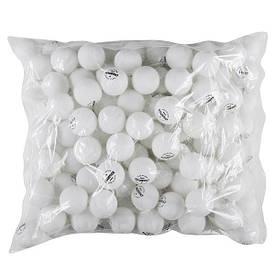 Кульки для настільного тенісу (144 шт) Champion білі CHW144