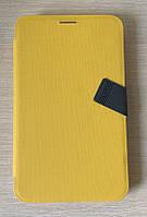 "Чехол-книжка для Samsung Galaxy Tab 3 7.0  T210, T211, Baseus ""Faith Leather Case"", Желтый, фото 1"