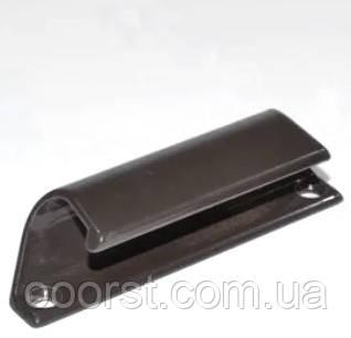 Балконная ручка(ручка курильщика) металлическая коричневая