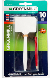 Этикетки пластмассовые с карандашом Greenmill 10 шт