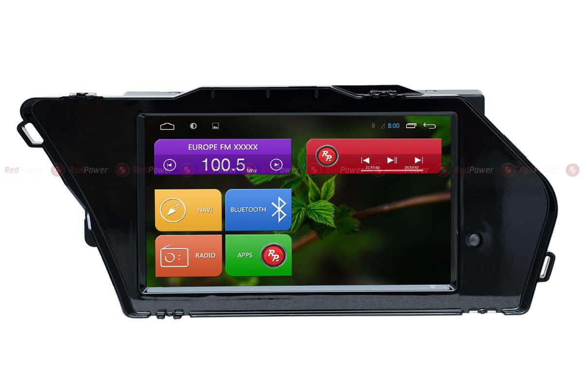 Штатний головний пристрій для Mercedes-Benz GLK-Class (X204 Restyle) (2012-2015) Android 6 RedPowe