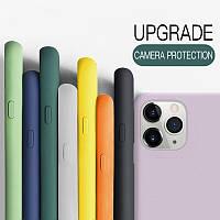 Силиконовый чехол-накладка Silicone Case для iPhone 11 Pro Max