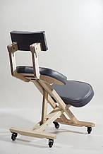 Бесплатная доставка! Офисный коленный стул с кожаной обивкой