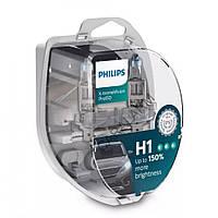 Лампа галогенна Philips H1 X-treme Vision Pro +150% 12V 55W P14,5s 12258XVPS2 (2 шт)