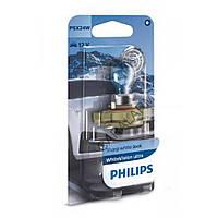 Лампа галогенна Philips PSX24W WhiteVision ultra +60% 12V 55W (3300K) B1 12276WVUB1, Лампа, галогенна, Philips, PSX24W,