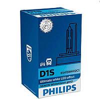 Лампа ксеноновая Philips D1S 85415WHV2C1 D1S 85V 35W PK32d-2 Whi, фото 1