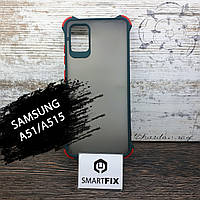 Противоударный чехол для Samsung A51 / A515 Armor Frame Зеленый, фото 1