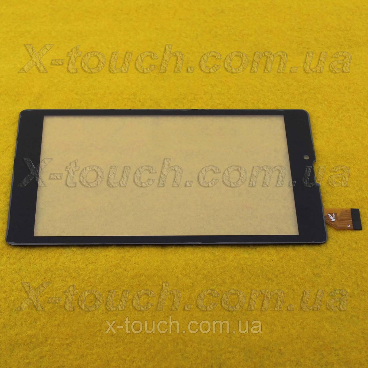 Сенсор, тачскрин FPC-DP070177-F1 для планшета, черного цвета