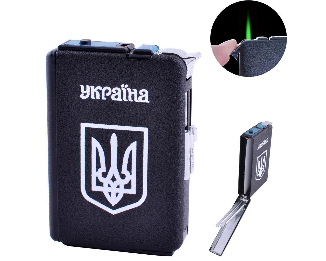 Портсигар + зажигалка на 10 сигарет Украина №HL-153