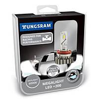 Лампи світлодіодні Tungsram Megalight LED H8-11 6000K PGJ19 60490 PB2