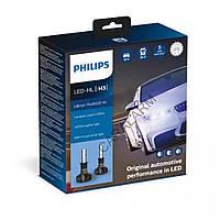 Лампы светодиодные PHILIPS LED H3 Ultinon Pro9000 + 250% 12/24V 18W