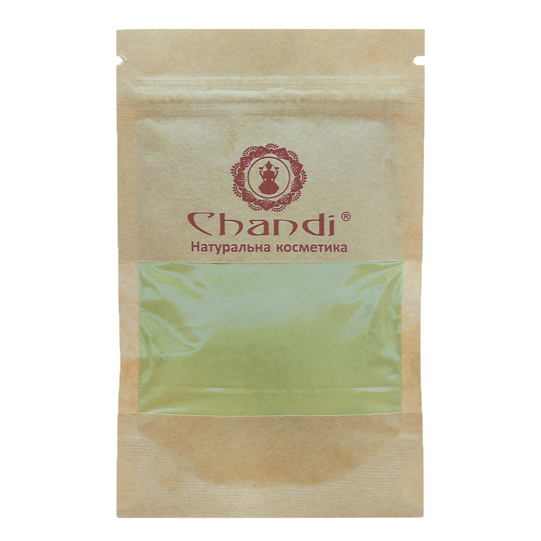 Фарба для волосся Chandi. Серія Органік. Коричневий, мініатюра, 20г