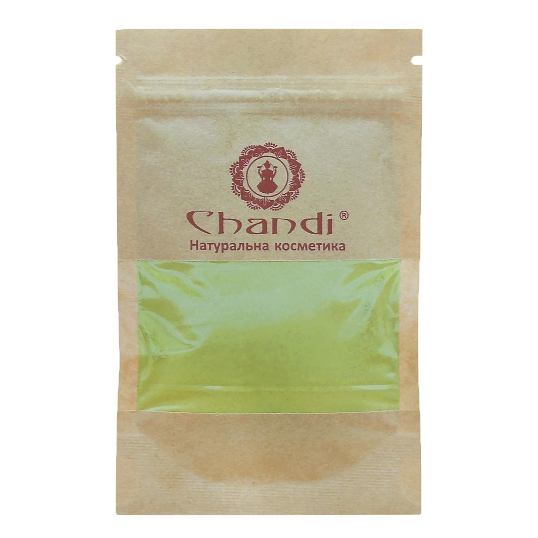 Фарба для волосся Chandi. Серія Органік. Каштановий, мініатюра, 20г