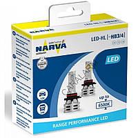 Лампи світлодіодні Narva HB3/HB4 12/24v 6500K X2 18038 Range Performance