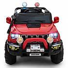 Дитячий електромобіль Cabrio JEEP GRAND-RS3 автомобіль машинка для дітей, фото 3