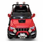 Дитячий електромобіль Cabrio JEEP GRAND-RS3 автомобіль машинка для дітей, фото 8