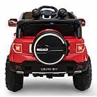 Дитячий електромобіль Cabrio JEEP GRAND-RS3 автомобіль машинка для дітей, фото 5