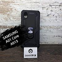 Силіконовий чохол для Samsung A015 / A01 Full Soft Бузковий