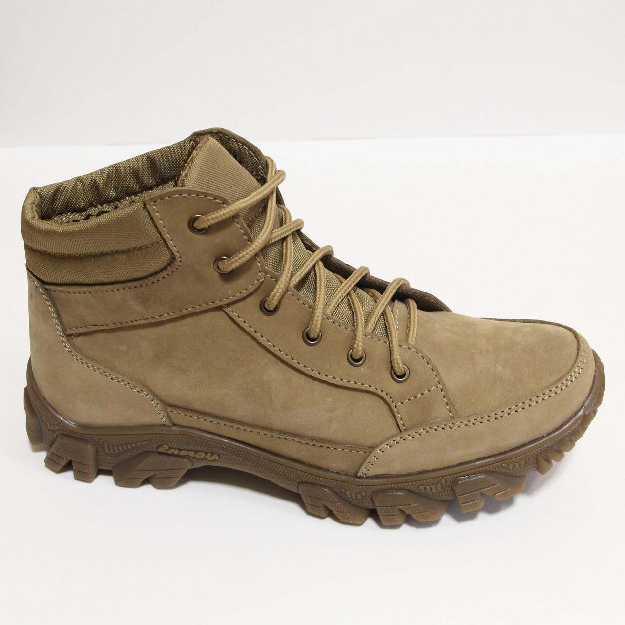 Тактические ботинки берцы из натуральной кожи (Бот №2 ДК)