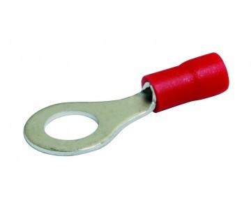 Клемма кольцевого типа, D6,5 мм, сечение провода: 0,5-1,5 кв.мм, KSS RF1.25-6 (RV1-6)
