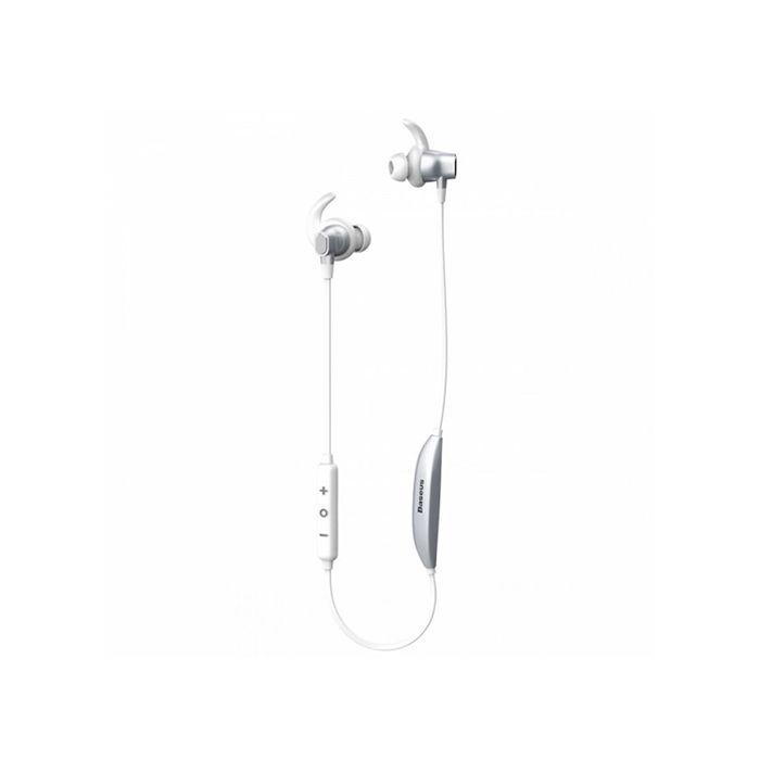 Bluetooth-Навушники Baseus Encok S03 Silver/White