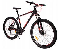 Горный велосипед MTB XC 272 рама 21 дюйм 27,5 черный