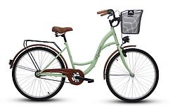 Городской женский велосипед Goetze eco lady рама 17 дюймов колеса 26