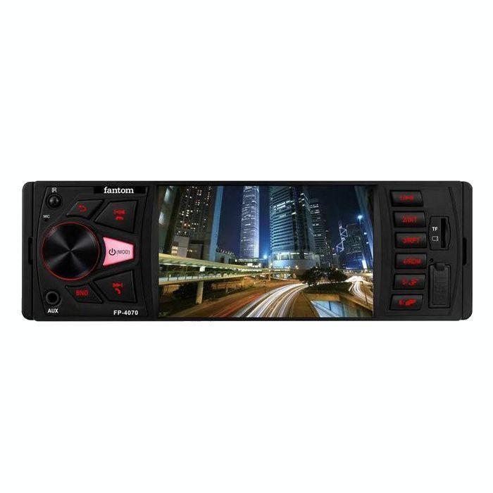 Автомагнітола Fantom FP-4070 Black/Red