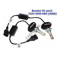 Лампы светодиодные Baxster S1 gen3 HB4 (9006) 5000K CAN+EMS (2 шт)