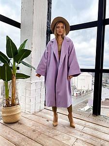 """Женское кашемировое пальто """"BAVARIA"""" с поясом и карманами"""